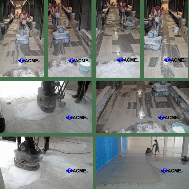 Pulido de pisos de marmol y granito pulido de pisos acme for Pulido de pisos de granito
