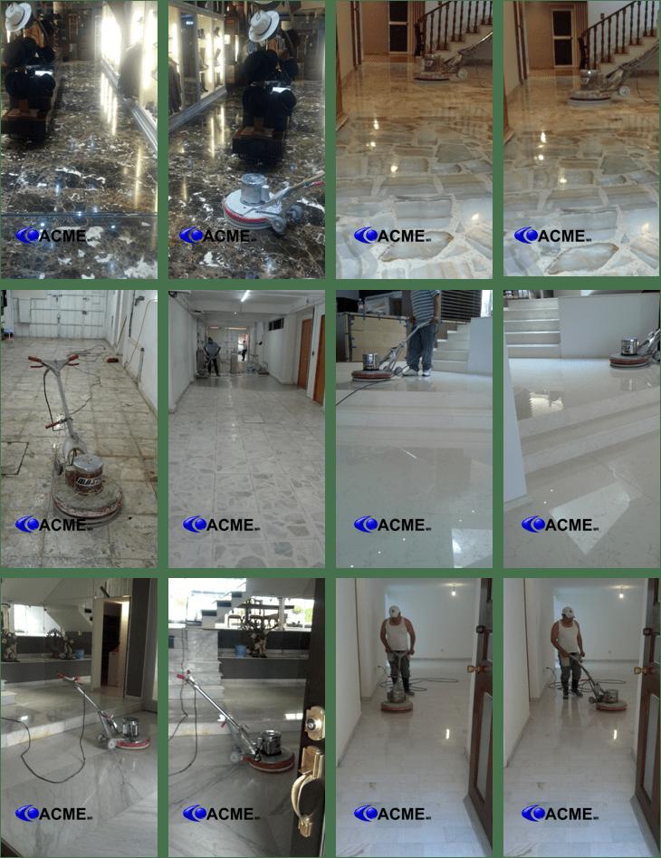 Pulido de pisos de marmol y granito pulido de pisos acme for Pulido de pisos de marmol