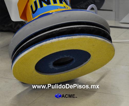 Los discos supershine y spongelux pulido de pisos acme - Como pulir un piso de cemento ...