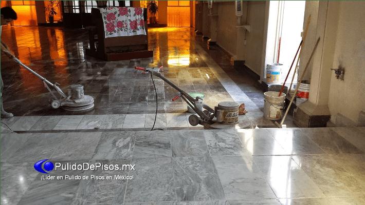 Pulido y abrillantado de marmol santo tom s pulido de for Pulido de pisos de marmol